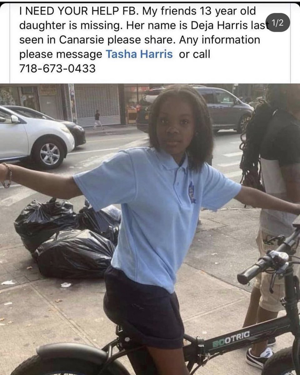 PLS RT ALL OF THESE INDIVIDUALS WERE LAST SEEN IN VARIOUS PARTS BROOKLYN!! If you know anything please contact these people!!! #SierraCoombs #DejaHarris #brooklyn #MissingPersonspic.twitter.com/INP8K1VtMj