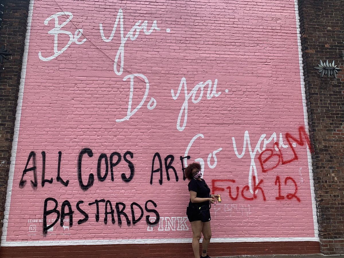 This wall has BARZZZZ #ACAB #1312 #FTP #F12