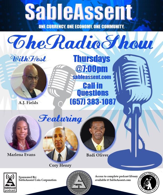 Every Thusday your #sableassent #team has a radio show just call in and listen Globally. #sac1 #sablecoin #sacwallet #webuyblack #blackexcellence #Uk #DC #atl #atlanta #dubai #nigeria #ghana #mississippi #northcarolina #crypto #jamaica #bahamas #london #Haiti #california #detroitpic.twitter.com/IRbrafPuTn