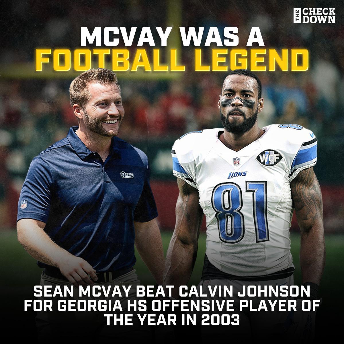 Sean McVay was a stud QB in HS 😳