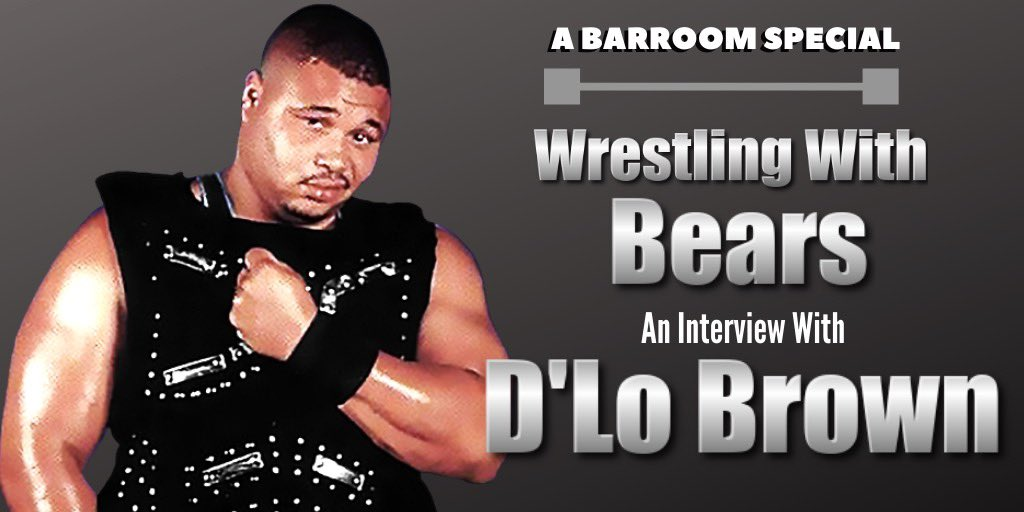 Don't forget! Tomorrow at 10am CST we interview legendary wrestler @dlobrown75 on @BearsBarroom! We'll be talking Bears, Liverpool and of course wrestling! Tune in live & join the chat we may even ask D'Lo your questions! @Bearlissimo1 @FatMikeChicago @AlexAce519 @AaronCurrent