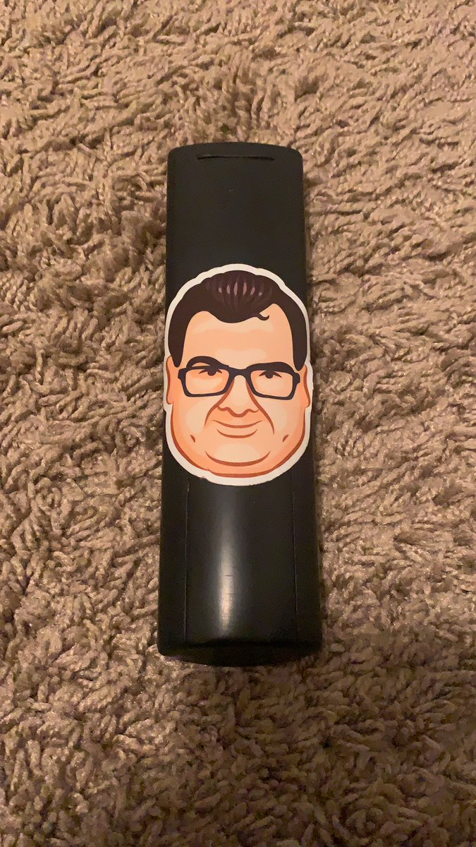 I remember when @thisisbiged gave me this sticker at twitchcon 19 I found it in the back of my tv remote OMEGALUL
