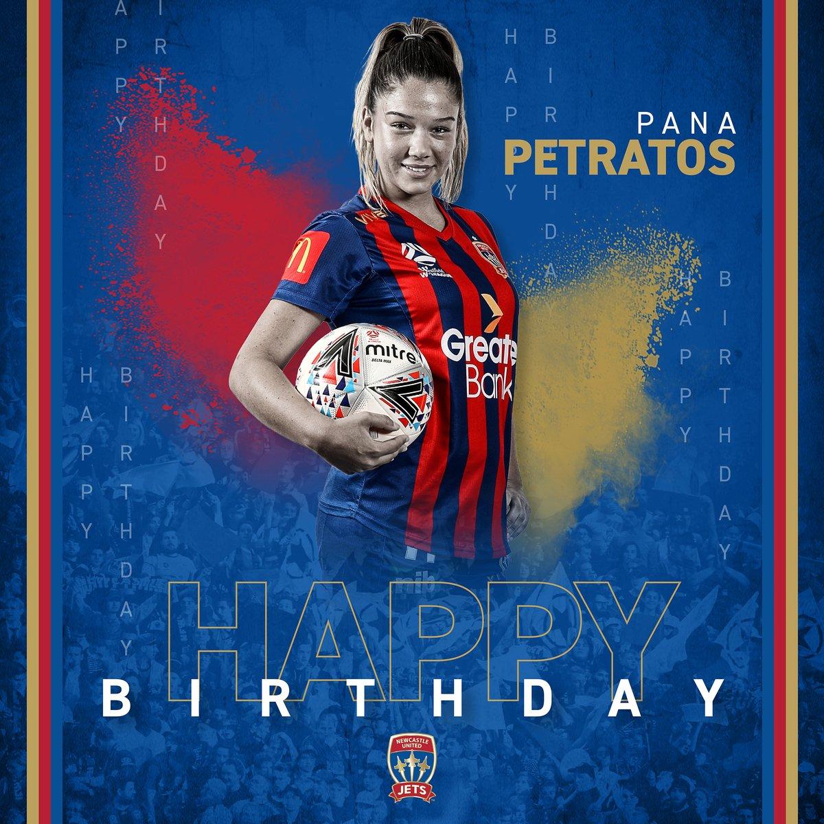 Happy birthday, Pana! #MadeOfNewcastle https://t.co/fBC0Qarz4e