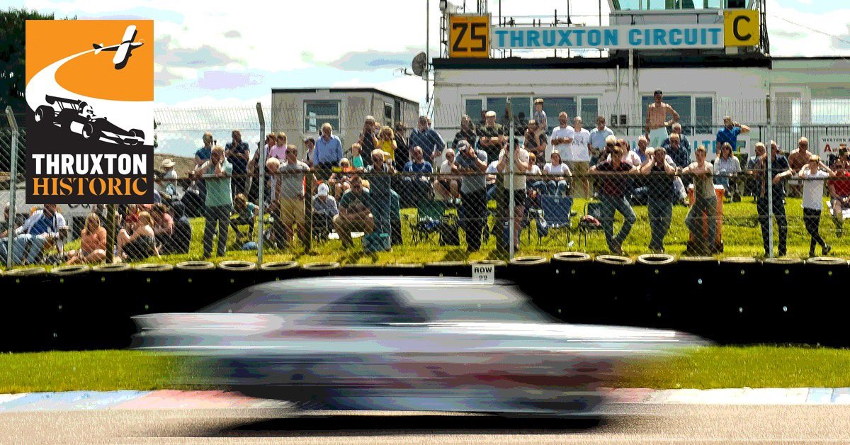 THRUXTON HISTORIC UPDATE   We're delighted to confirm that the Thruxton Historic has been given a new date: Saturday 15 - Sunday 16 August.  More information about the event, confirmed grids and ticket information is available on our website: https://t.co/3bV4uj6fUC https://t.co/VrlbYaDcmS