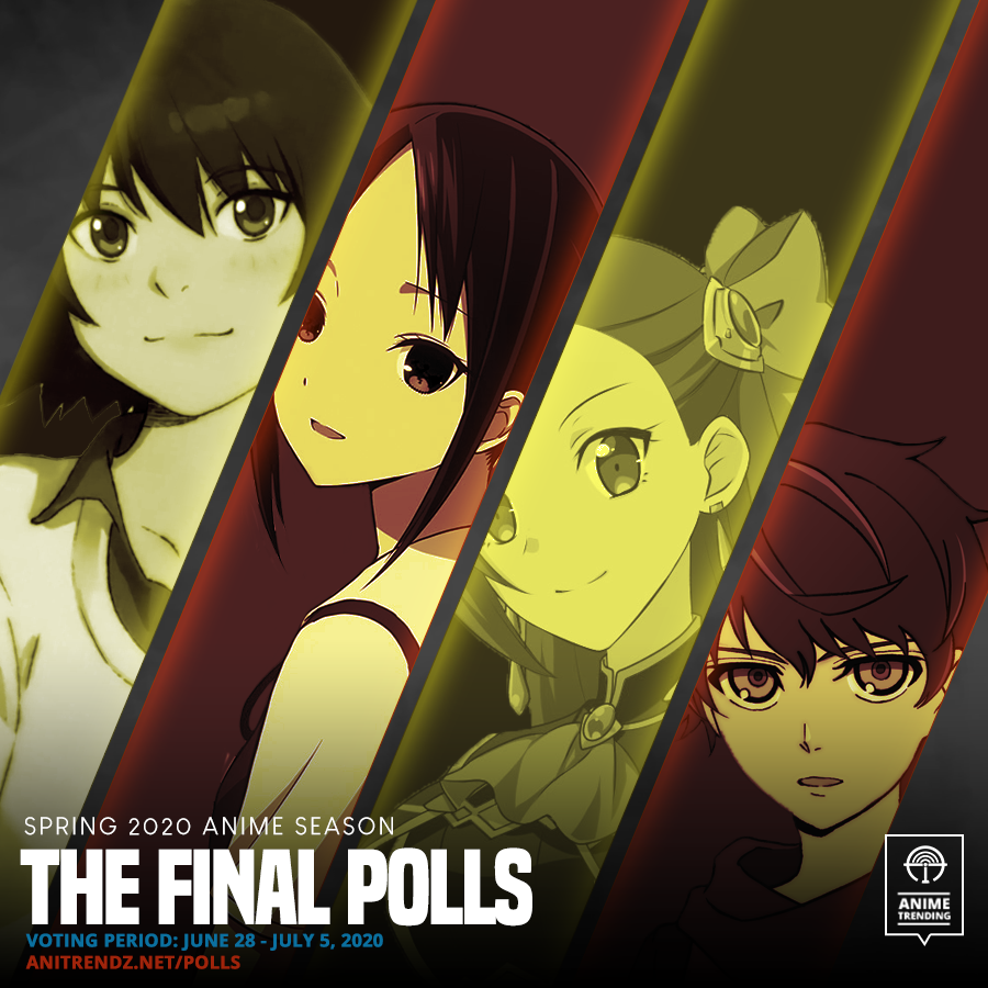 ONE.LAST.TIME. Four anime are statistically in the running to be our next Anime of the Season. Which anime is it going to be? 🔥 Vote Now!: atani.me/vote