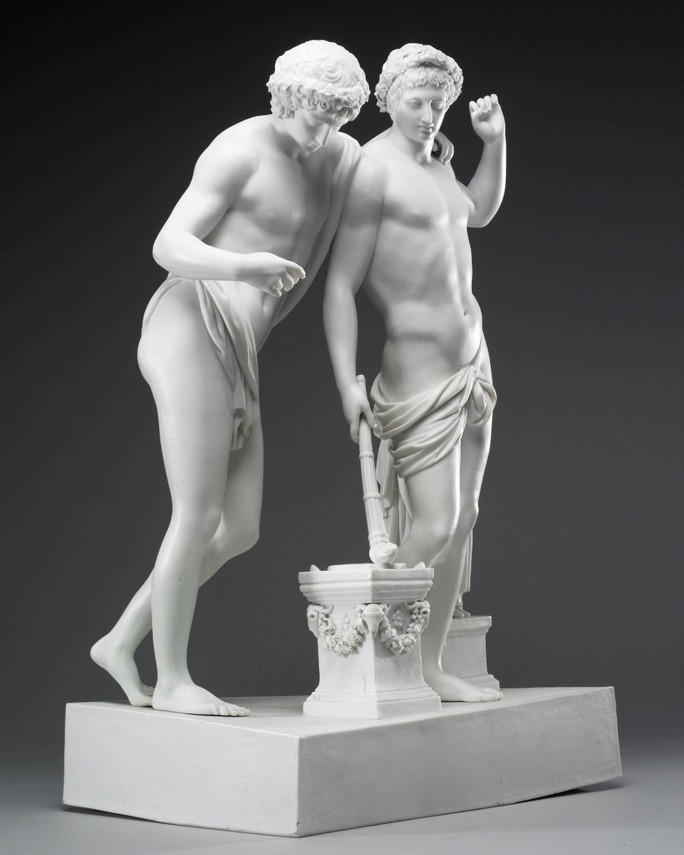 Read about this sculpture's story and discover seven other objects with LGBTQ connections picked by our LGBTQ tour volunteers, and people who have helped research these histories in the collection: ow.ly/gGyQ30qTFq6 #Pride