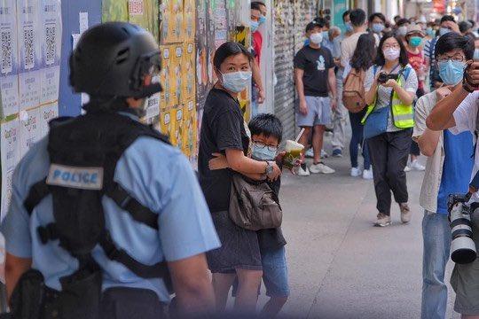 #PoliceState #HongKong