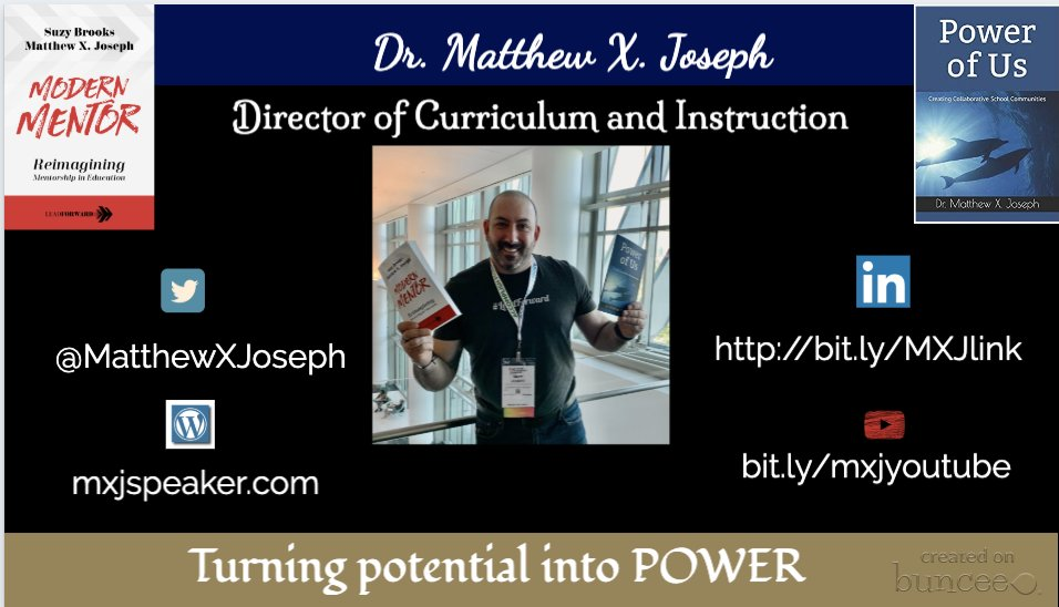 Good morning #hacklearning back from another Sunday of learning and connecting. Matt Joseph Ed Leader from MA