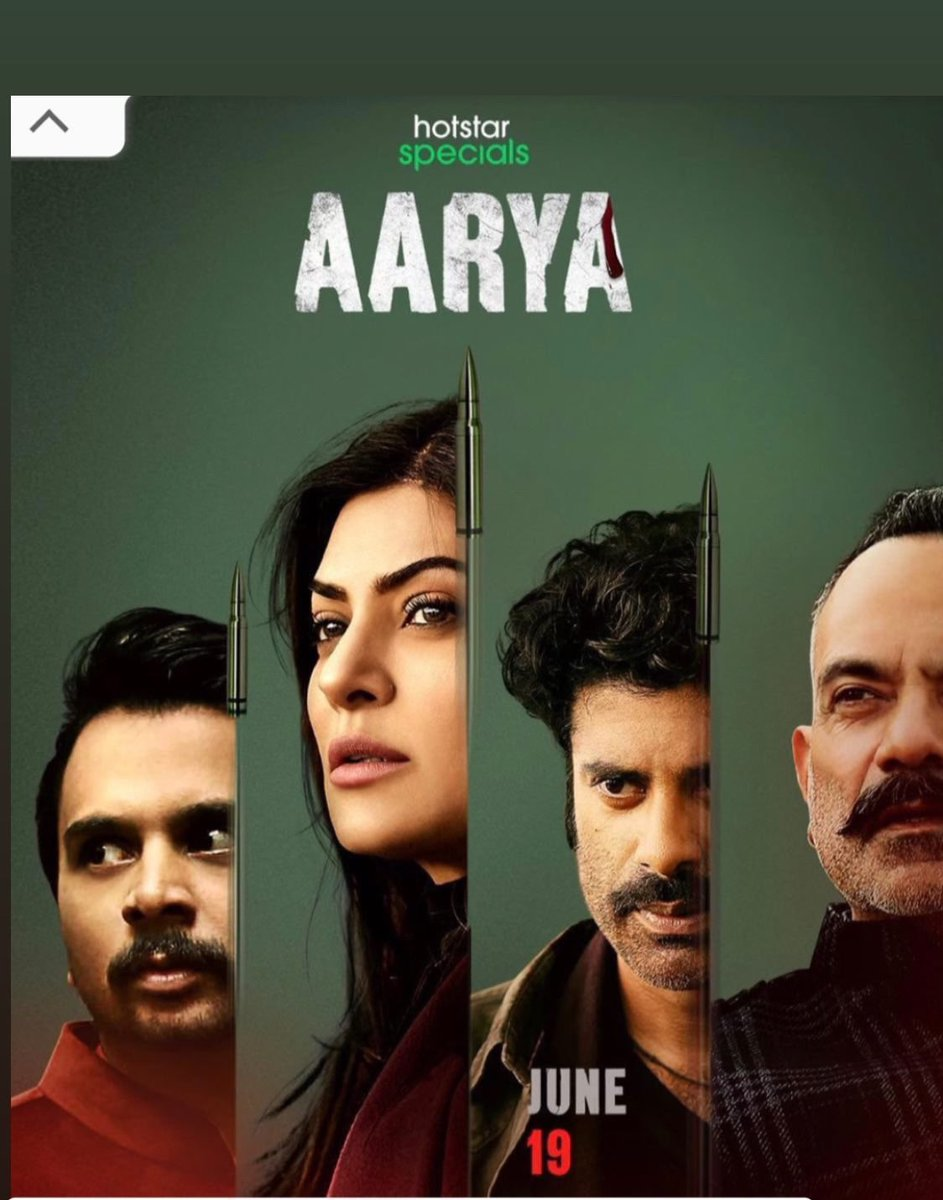 Thoroughly enjoyed #Aarya .. Mama and I were hooked! Incredible screen presence as always @thesushmitasen ..you completely  imbibed Aarya! So happy to see you in such a stellar role❤️You too @sikandarkher & the entire cast who were brilliant! You are a class apart @RamKMadhvani https://t.co/MjwTuYY49J