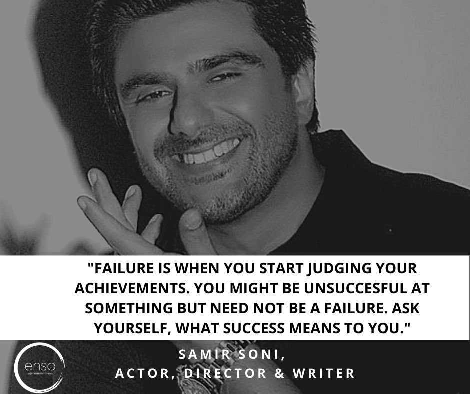 """*Trust yourself * Fall and get up, rise and shine like a shooting star."""" Samir @samirsoni123  said this on STAND UP TO STIGMA (Let's talk about Mental Health). We are grateful to you.  #StayWise #KeepCalm #Workhard  #StayFocused #MentalHealth #Ensowellness #AroubaKabir #samirsoni https://t.co/MKaQ7Vq2iQ"""
