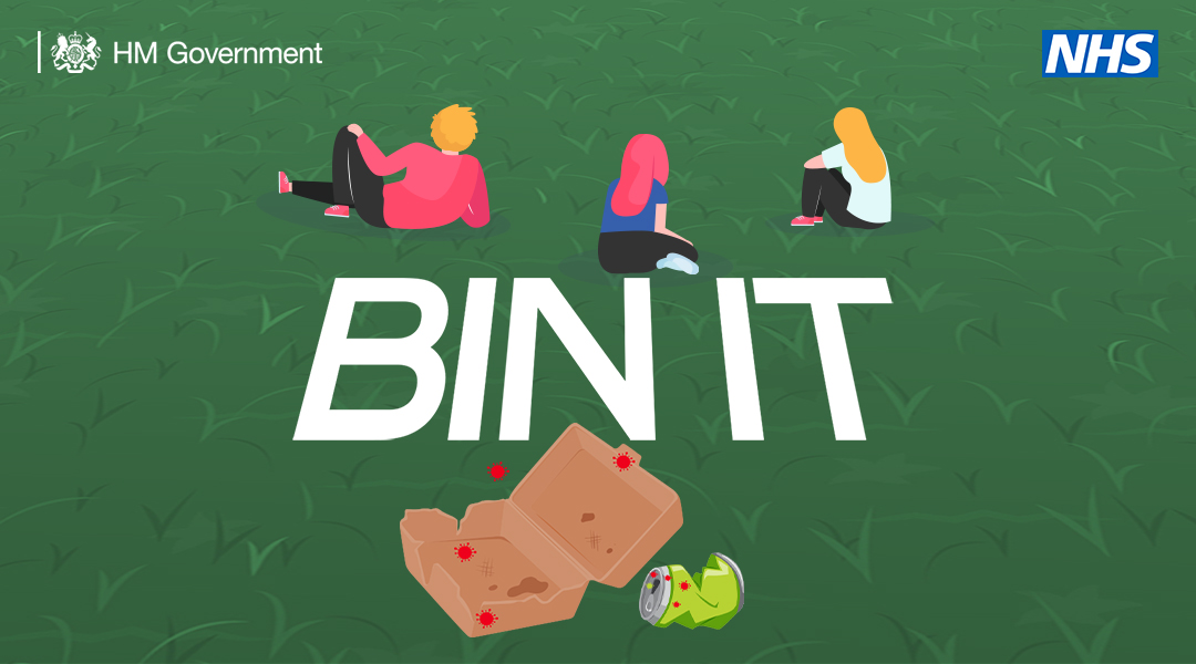 Respect the environment. Bin your litter, or take it home with you. #StayAlert