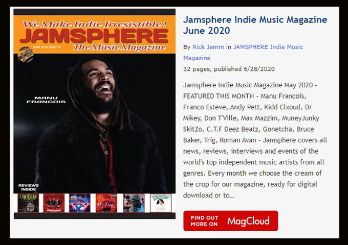 Jamsphere Indie Music Magazine June 2020 - https://t.co/cT5GAfxfBf https://t.co/QNFP2ZE09N