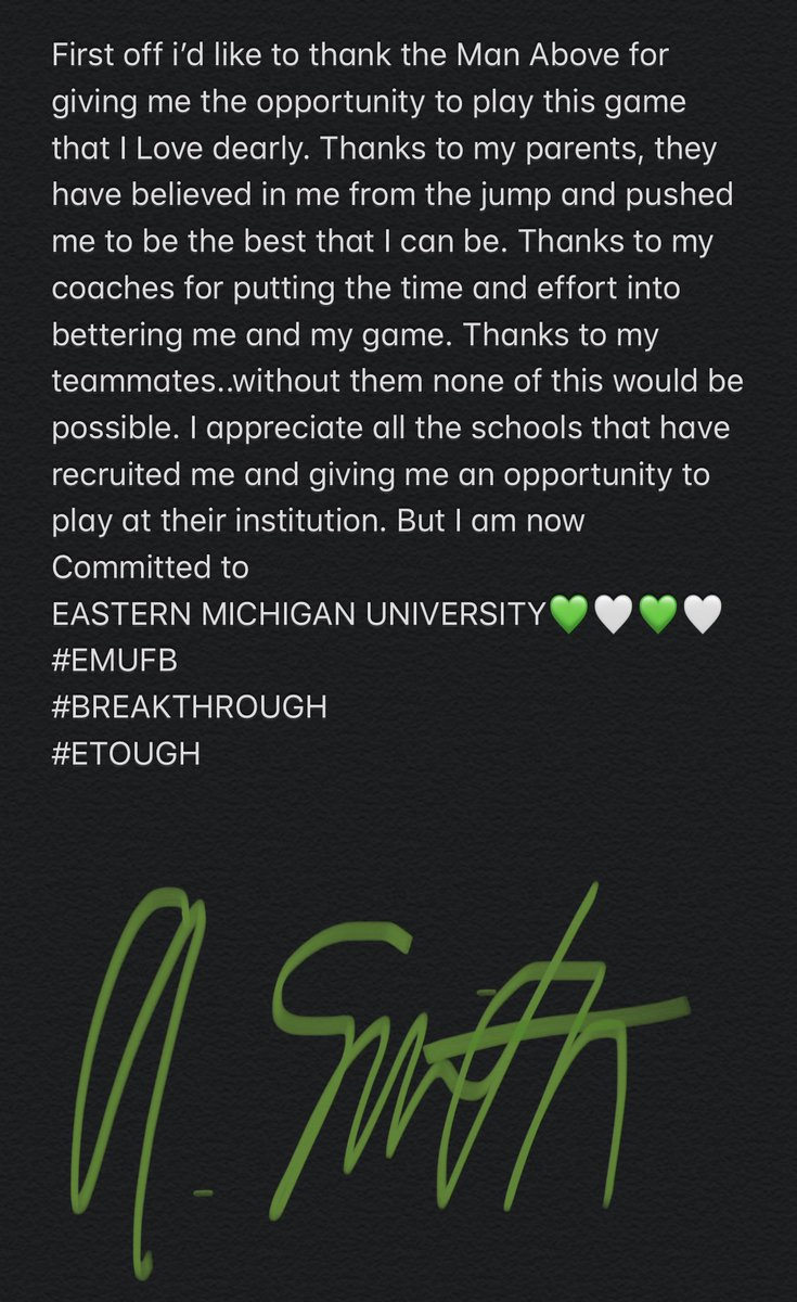 COMMMITTED.......... #ETOUGH #EMUFB #BREAKTHROUGH