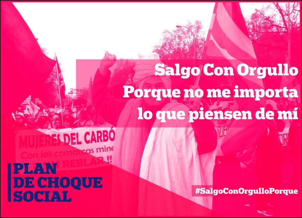 #SalgoConOrgulloPorque no me importa lo que piensen de mí. 🏳️🌈✊  #MedidasDeEmergencia  #CampoDeGibraltar  #PlanDeChoqueSocial https://t.co/xmAhEOKeSo