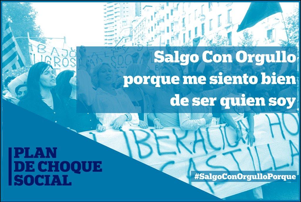 #SalgoConOrgulloPorque me siento bien de ser quien soy. 🏳️🌈✊  #MedidasDeEmergencia  #CampoDeGibraltar  #PlanDeChoqueSocial https://t.co/7iQJbKpgEX