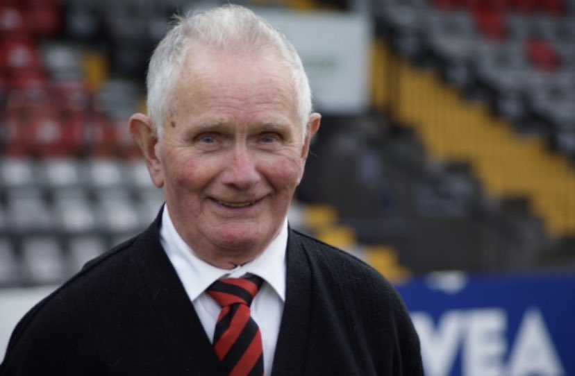 Remembering our lovely grandad today on his 5th anniversary. Lifelong @bfcdublin man. #ripLarry