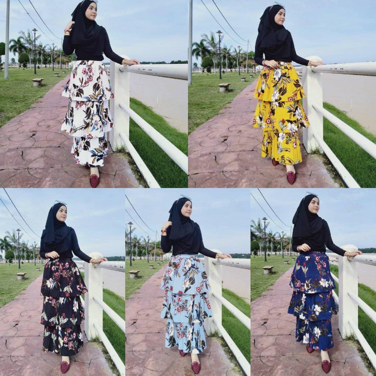 Haii saya ada jual SKIRT PLEATED PRINTED 3 LAYER   RM38 SM / RM42 SS   MATERIAL : CREPE FREE SIZE : FIT S TIL 2XL  http://wasap.my/601116882377/NakSkirtPleated…  #readystock #readyitemdbf #skirt #skirtpleated #pleatedskirt #fashionskirt #casualskirt #skirtlabuh #longskirt #BC #dropshipbyfaapic.twitter.com/bGn8SaIwIl