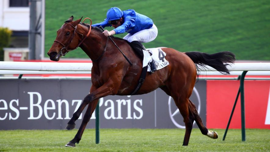 He is a classy colt but it must be remembered that the Ispahan is the real goal for PERSIAN KING before his run in the upcoming #Muguet! As low as 1,3 in France but now out to 1,7. https://t.co/GlVAjuKoNp