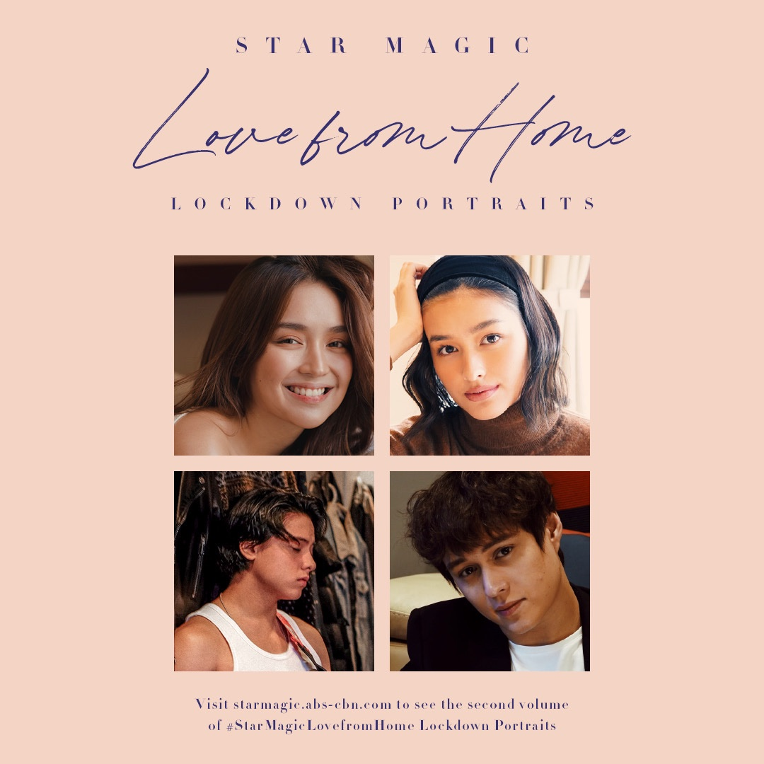 #StarMagicLovefromHome Lockdown Portraits Volume 2 is now available! Get the chance to see more DIY shots of your favorite Star Magic artists without having to go through the 1st volume search page 121 via bit.ly/37IzlQJ