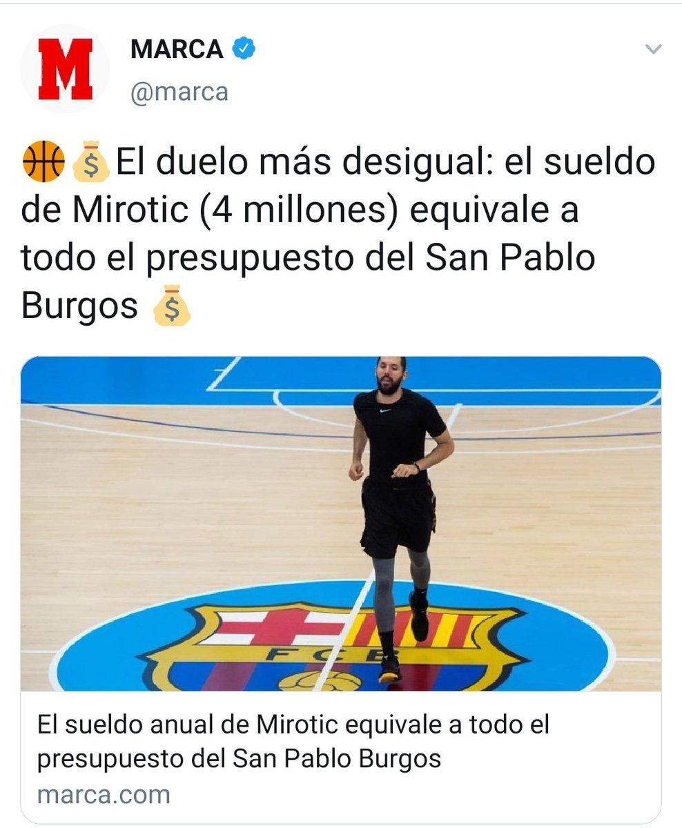 Cuando el Madrid jugó contra el San Pablo no se hizo la misma comparación, porque todo el mundo sabe que los jugadores del Madrid juegan gratis. ¡HALA MADRID!