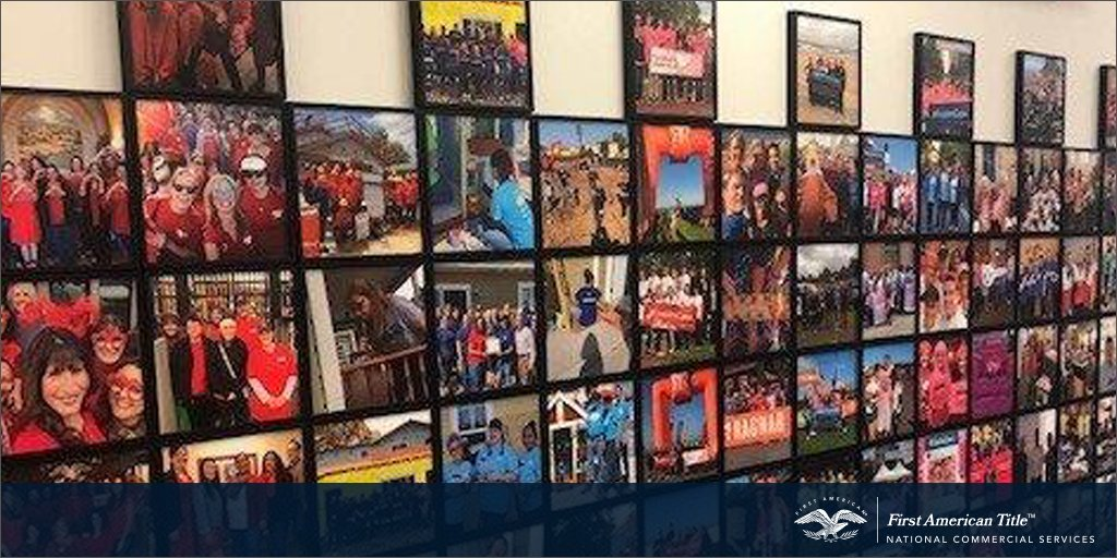 Check out our #FirstAmCares wall, where we share our team members' volunteer experiences.  Share with us how your company makes a difference. We'd love to hear about it. https://t.co/Nzd6LHhTkQ