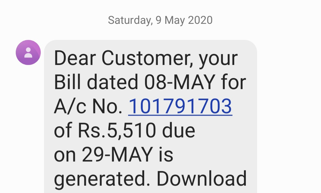 Dear @Adani_Elec_Mum  I got a bill of Rs5510/= on the 9th of May  while in June I got a bill of Rs 29,700 combining May & June where you've charged me Rs 18080 for the month of May. How did Rs.5510/= become Rs.18080/=? https://t.co/64zlmNe8Qo