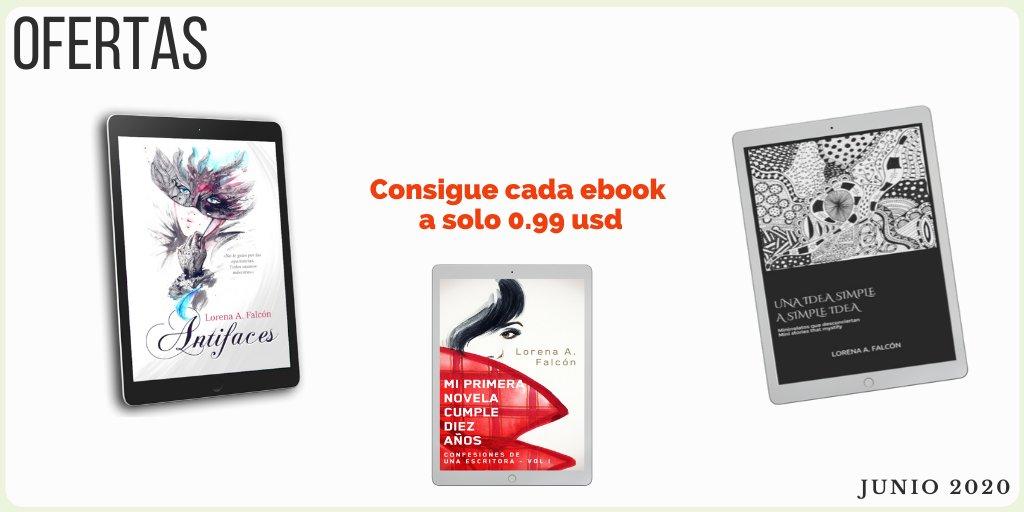 Nuevas ofertas del mes.   ÚLTIMA SEMANA. Vamos desde uno de mis primeros libros hasta uno de los últimos. * ¿Novelas únicas?  * Lecturas rápidas?  * ¿No ficción?   http://ow.ly/Mkyl50zWYT8  #booksforsale  #99cents  #standalonenovels #bilingualbooks pic.twitter.com/q0COeYxsq5