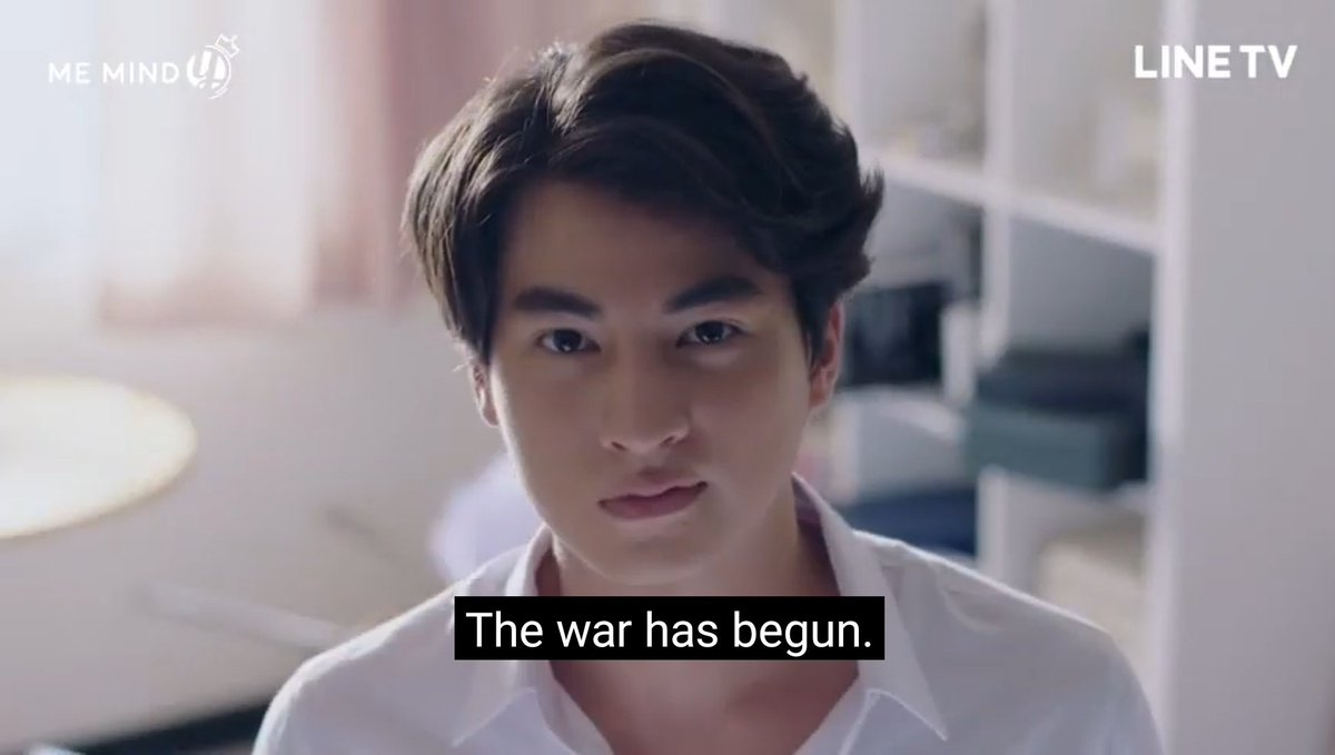 Yes, I refuse to count this because it's just a single line uttered in the same episode, which could have just easily been said out loud by Type.I understand, too, that voice over narration is pretty common as merely an introduction in many Thai series.But y'know.