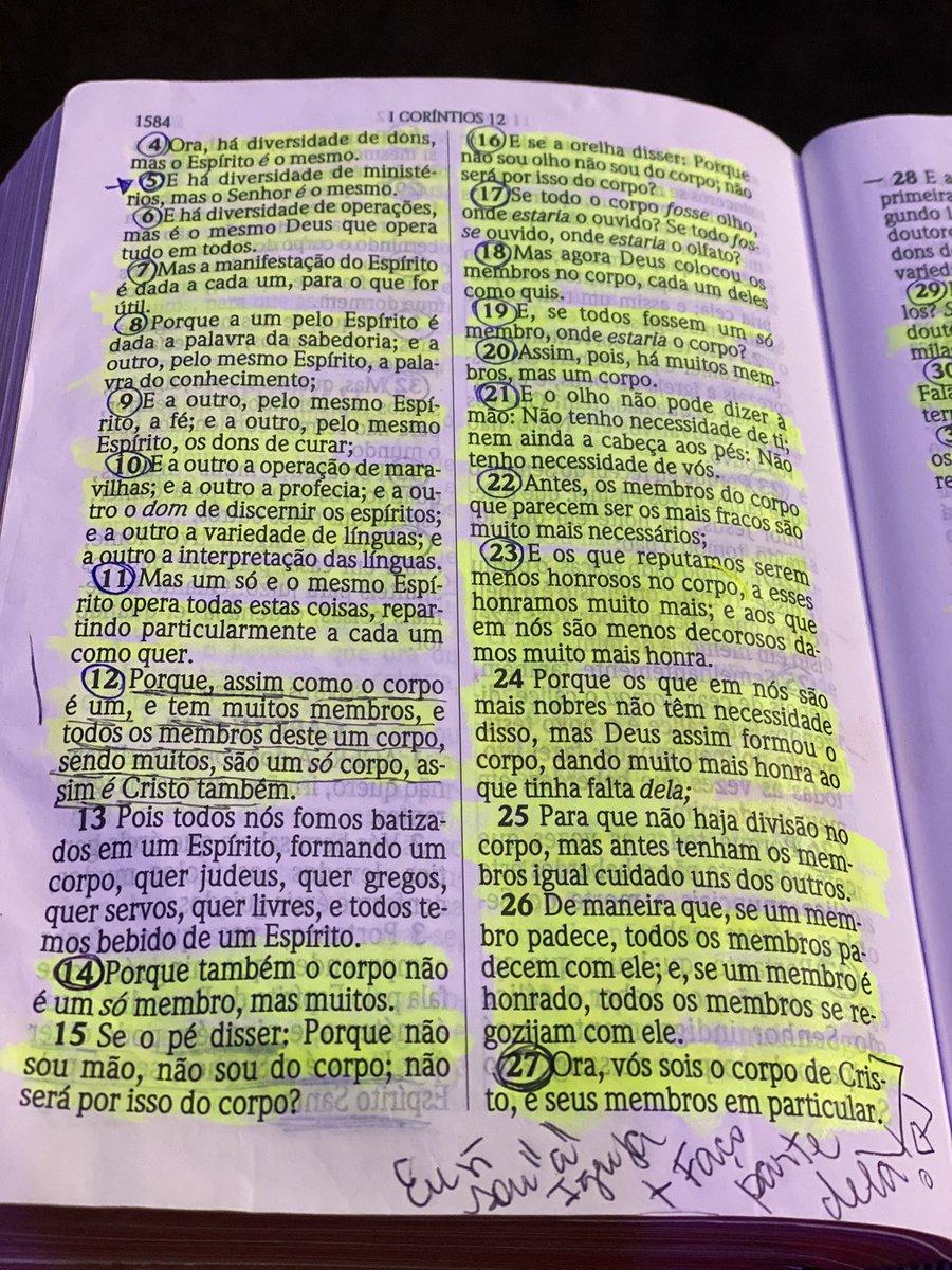 """CeiaDaComunhão A INTELIGÊNCIA DA UNIDADE (By @Jairomanhaes ) A defesa do corpo está na unidade! O comprometimento de 1 membro c o outro faz o corpo """"governar"""".Somos o corpo de Cristo na Terra e o sistema da unidade q Deus colocou é perfeito. Eu preciso de vc e vc precisa de mim! https://t.co/OX1X9EhHJm"""