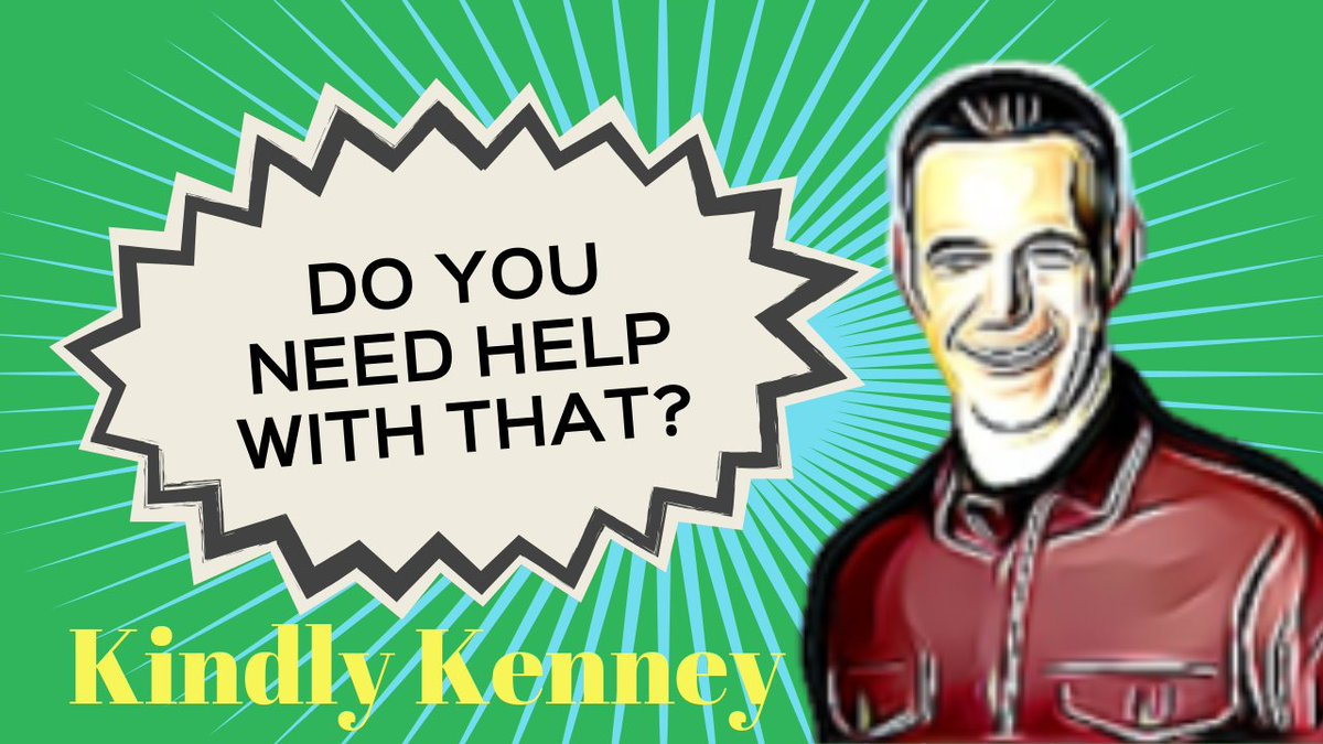 Please join me for this episode of Kindly Kenney and help me turn this into a fun, family-friendly show during this pandemic. youtube.com/c/kenneymyers