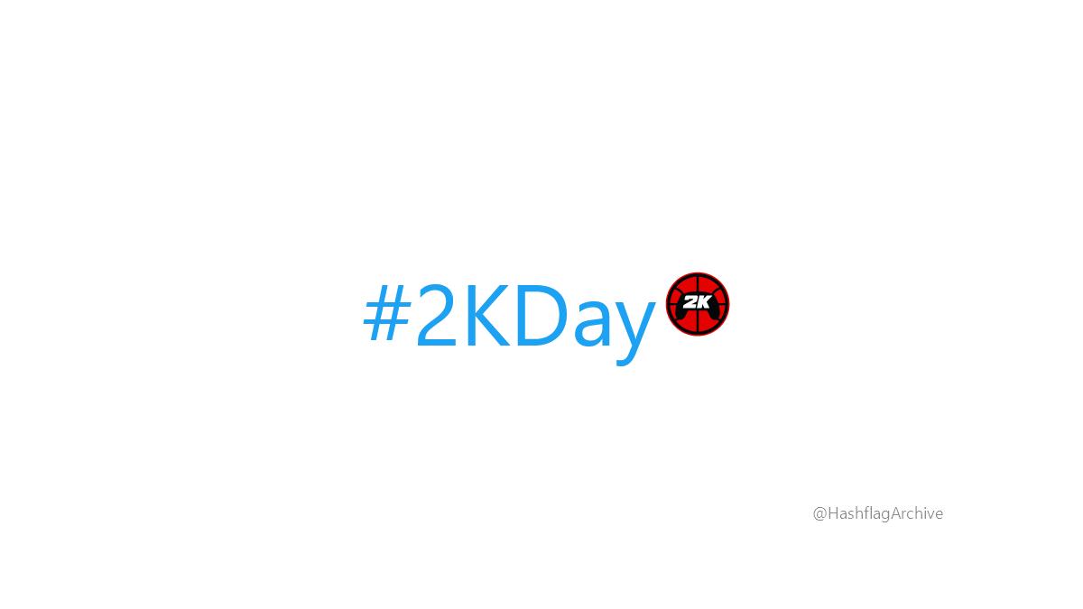 #2KDay https://t.co/LyXd74yttN