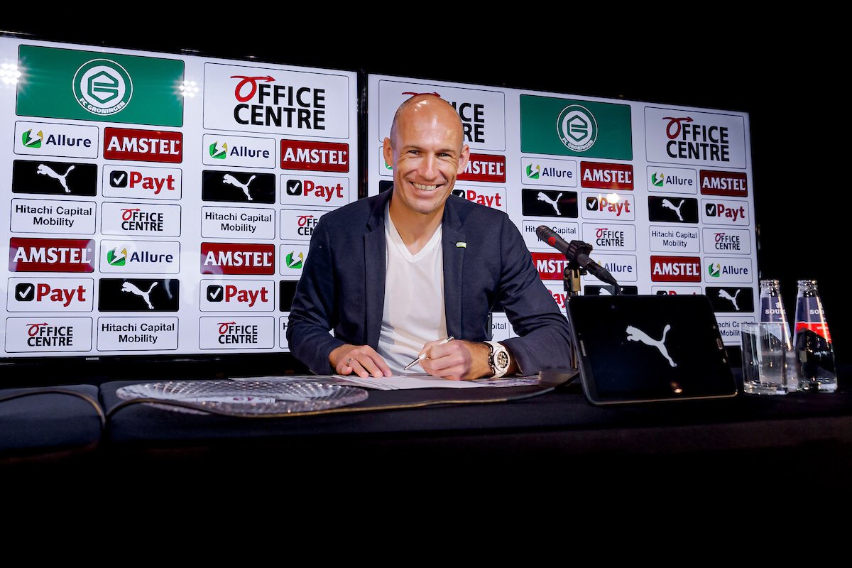 ✅ Done! And now back to work. 💪⚽️ @fcgroningen