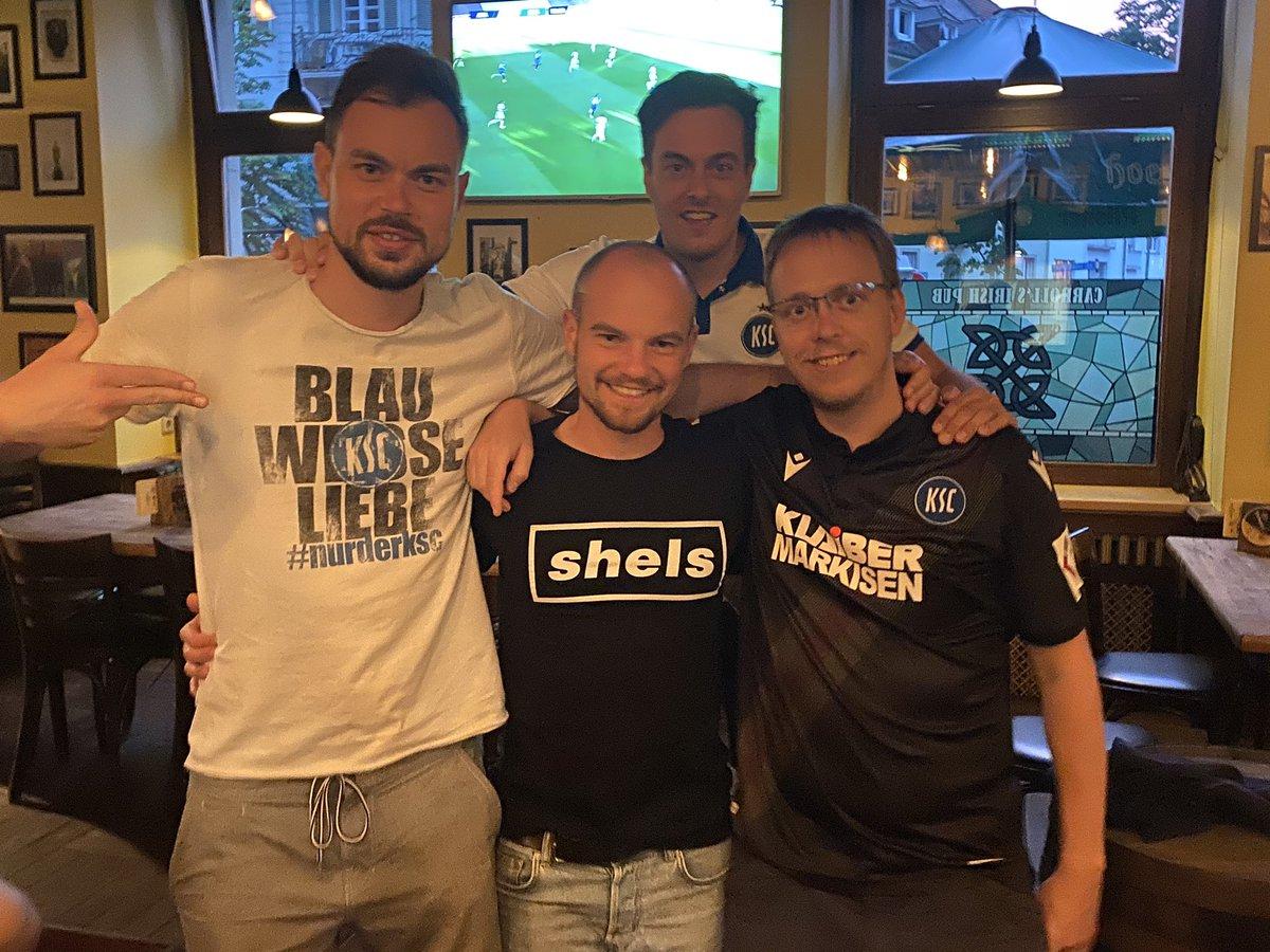 Neue Freundschaft - new club friendship @KarlsruherSC @shelsfc