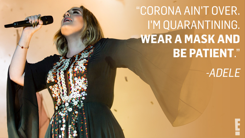 Adele set fire to the comments after fans started asking if she was teasing a new album release. eonli.ne/2ZofPWa