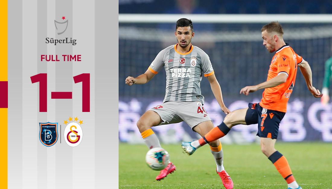 Full time: Başakşehir FK 1-1 Galatasaray #BŞKvGS https://t.co/3ZfgnrB5Vp