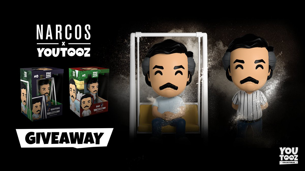 narcos drops on tuesday⏱️RT for a chance to win one free