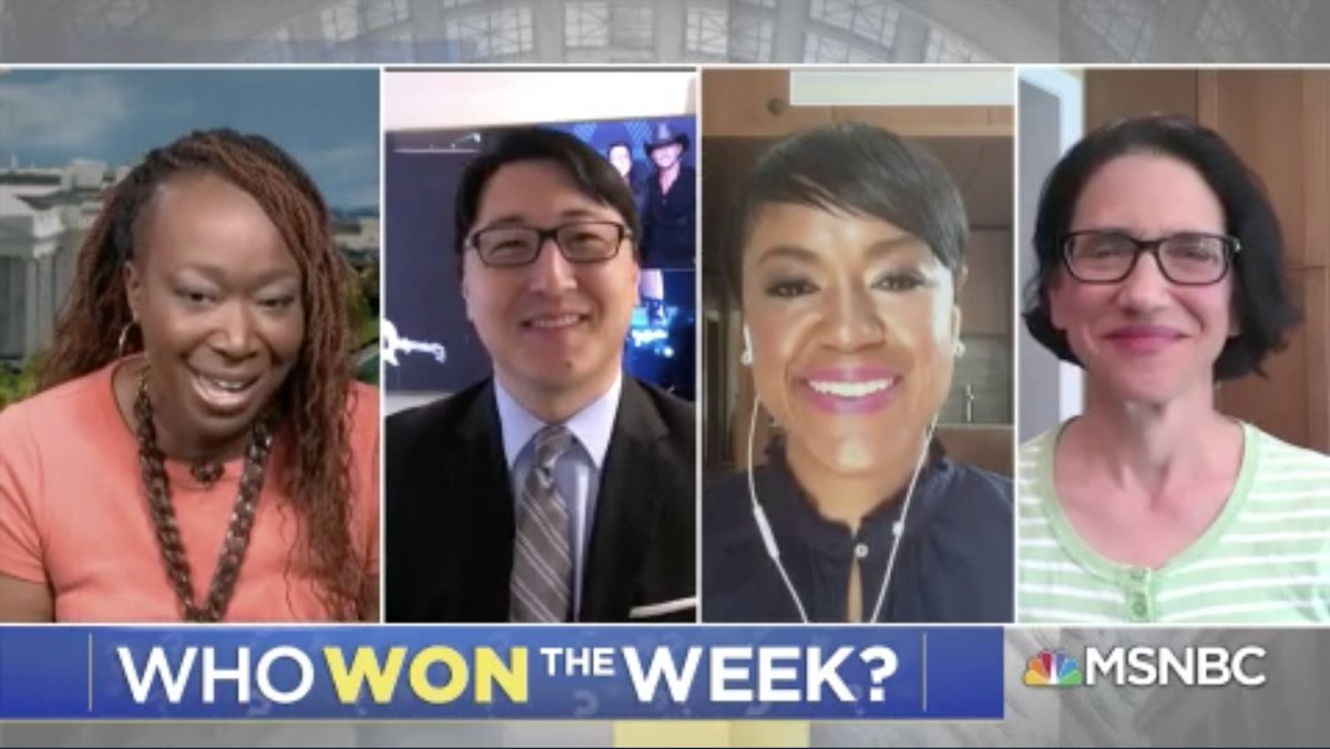 #reiders... WHO WON THE WEEK? Weigh in in the replies! #AMJoy