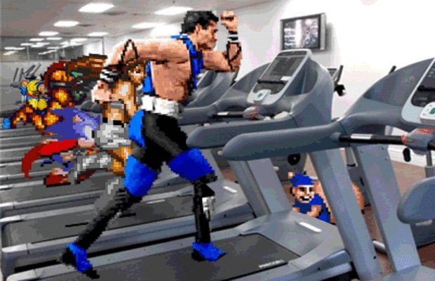 Have you been exercising recently? They have. #exercise #treadmill #running #16bit #mortalkombat #sonic #gym #gamingmemes #gamememes #game #gaming #videogames #mobile #smartphone #gameminepic.twitter.com/ZwQ9pWBUK3