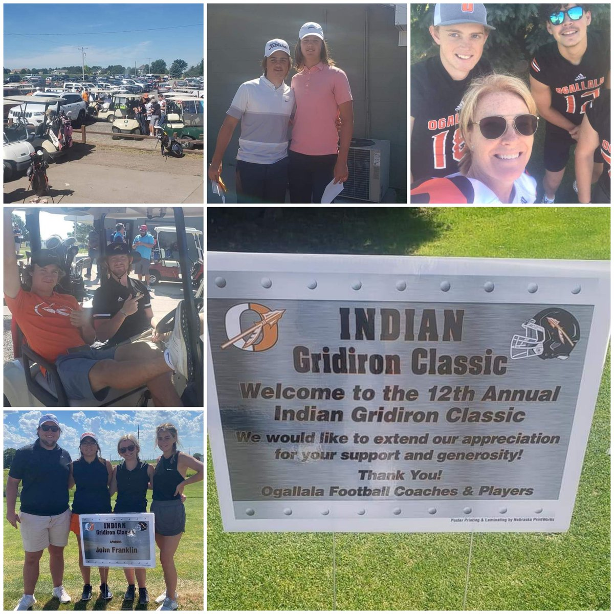 Thank you Ogallala Community & everyone that helped make the Indian Gridiron Classic a huge success!  A great day celebrating Ogallala Football!  38 teams, record setting sponsors & donations! Thank you for your support!! #PrairiePlaymakers  #AllFor1  #winEVERYTHING  #Family https://t.co/OaJJSU5S7D