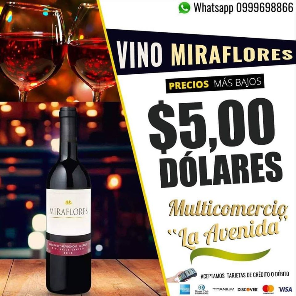 Impulsamos el emprendimiento  de nuestros hermanos del #cantónBolívar. Todo lo que quieras decirlo, exprésalo con el vino  #VinoTinto #Miraflores #QuédateEnCasa Entrega a domicilio por Whatsapp Chat directo https://wa.me/59399969886 Dirección : Av. Estudiantil Vía Tosagua Km1pic.twitter.com/hWym58EQ4k