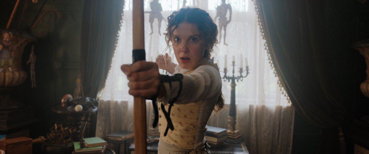 Sherlock'a bir rakip var; kız kardeşi! Millie Bobby Brown, Helena Bonham Carter, Henry Cavill ve Sam Claflin #EnolaHolmes'in hikayesinde buluşuyor. https://t.co/QGJ8ykOAhz
