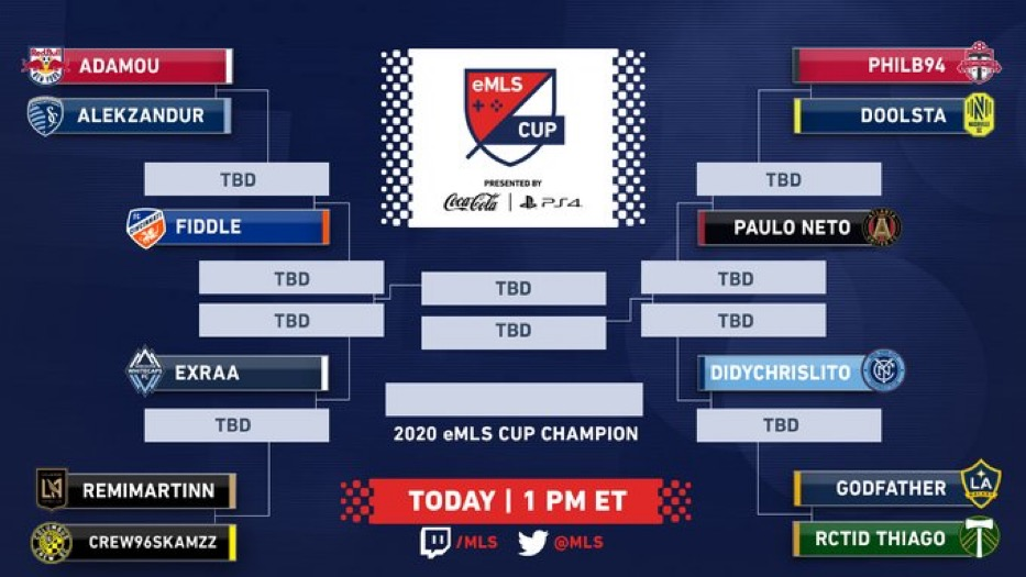 It's time for a new champion to rise! Don't miss the final day of the @eMLS Cup! Watch live ➡️ twitch.tv/mls