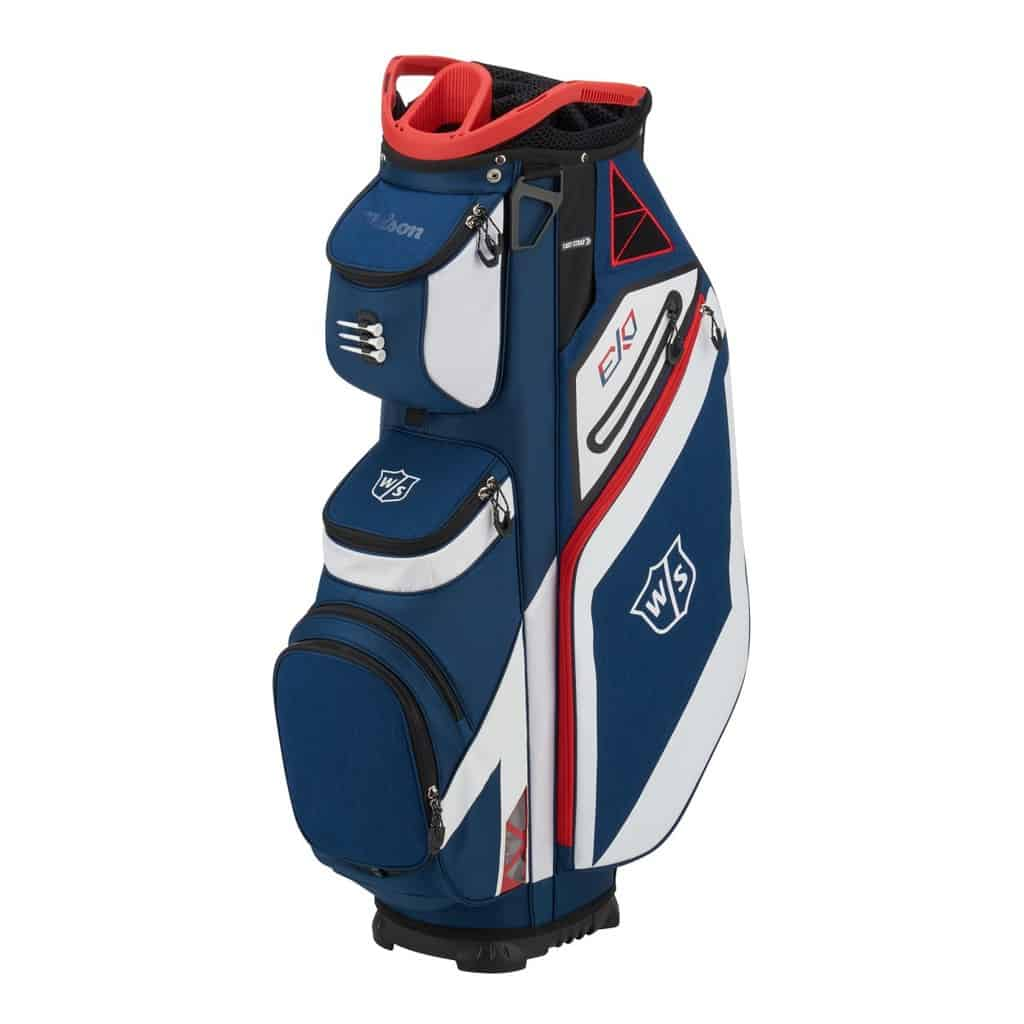 Wilson Exo Cart Bag.......this is a cracker of a bag! Packed with loads of great features........hit the link below...... ow.ly/K56X50AfWpq
