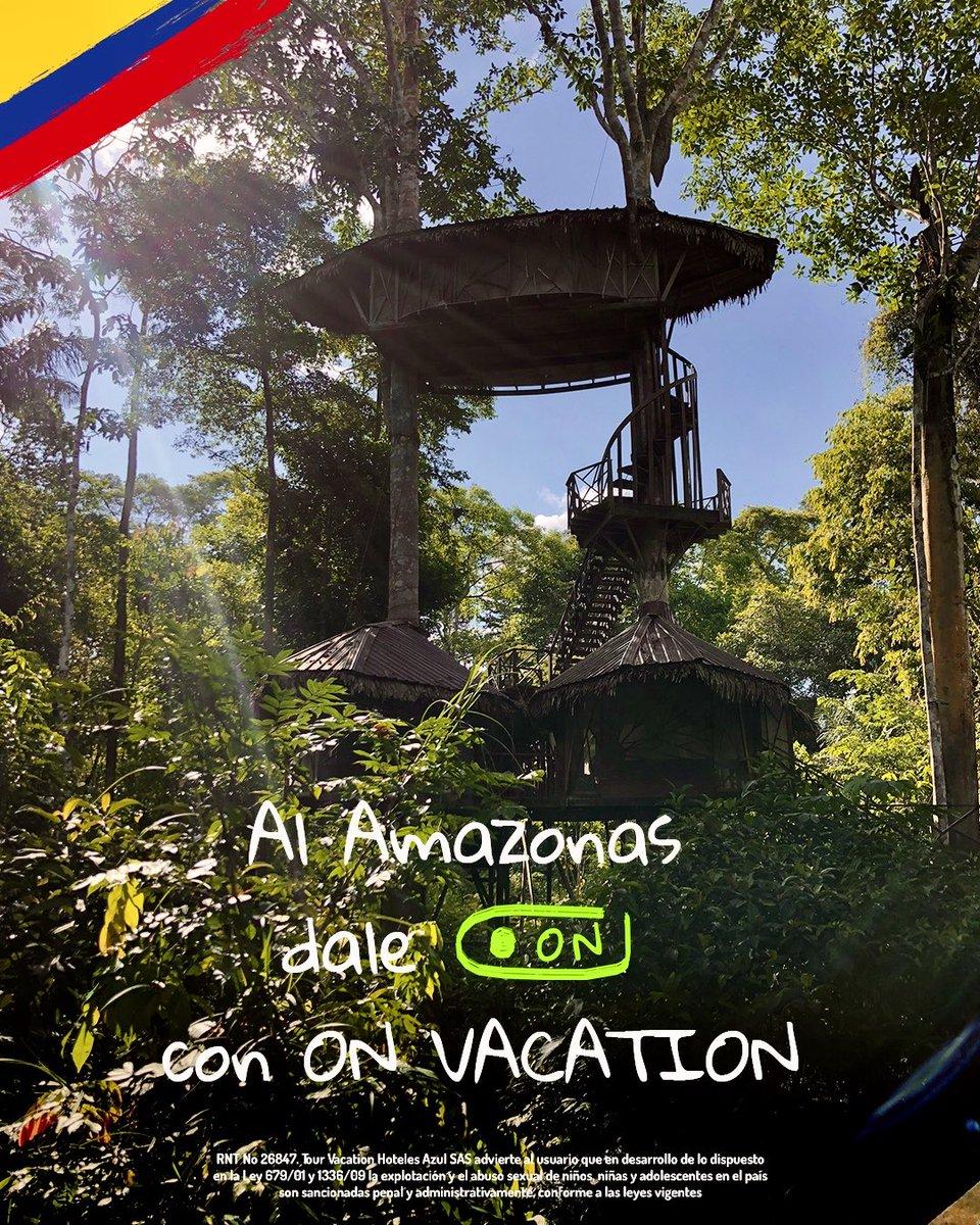 🟢 #DaleON al Amazonas! 🟢 Reserva tus vacaciones para octubre del 2020 y conoce la casa en el arbol en la mitad del pulmón del mundo . Reserva ya y viaja desde octubre de 2020.  Paga a cuotas sin intereses en https://t.co/ni4qz4lDS1 💻, llama gratis desde tu celular al #336📲 https://t.co/lvCBjGFBG2