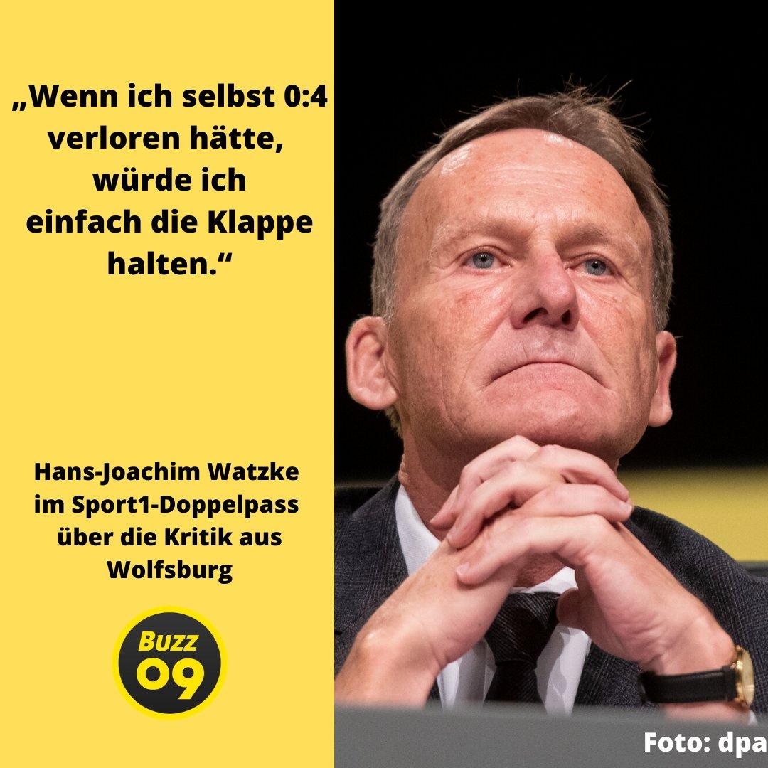 Hans-Joachim #Watzke teilt gegen den VfL Wolfsburg aus. #BVB #BVBTSG https://t.co/6TeSFuhVK6