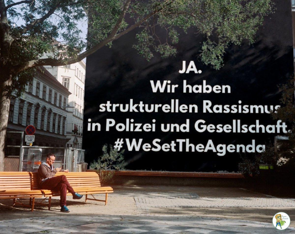 #WeSetTheAgenda
