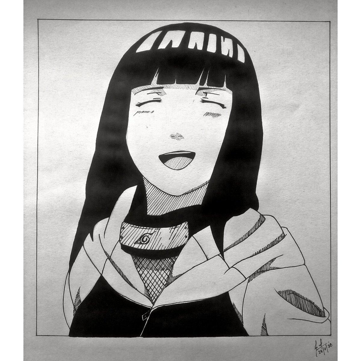 Hinata from Naruto  . . . . .#traditionalart #traditionalartwork #kristotheartcollector #animeartwork #animeart_worldwide #animeartshelp #mangaartist #animearttr #animedrawing #drawinganime #fantasy #animeartgallery #animeartassistant #animefreak #illustration #artistsoninstagrampic.twitter.com/9XQmSW24oU