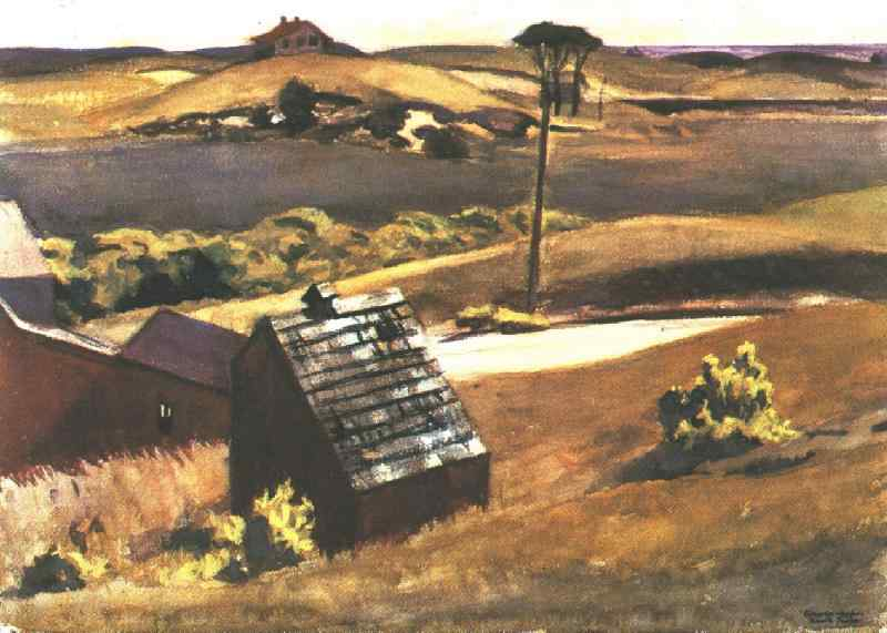 Burly Cobb Hen Coop and Barn, 1930 #edwardhopper #newrealism <br>http://pic.twitter.com/Y66iYgVXRp