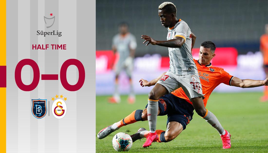 Half time in Istanbul   Başakşehir FK 0-0 Galatasaray #BŞKvGS https://t.co/mv8ZL07kBT