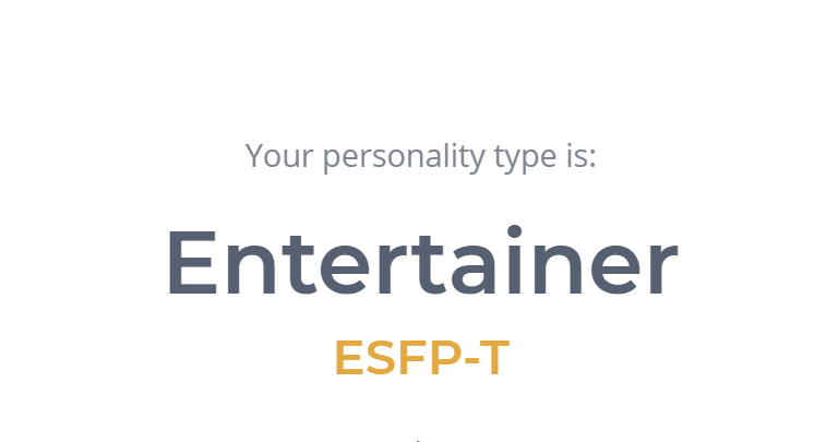 Randomly decided to take an online personality test today... Idk guys...results seem off to me.